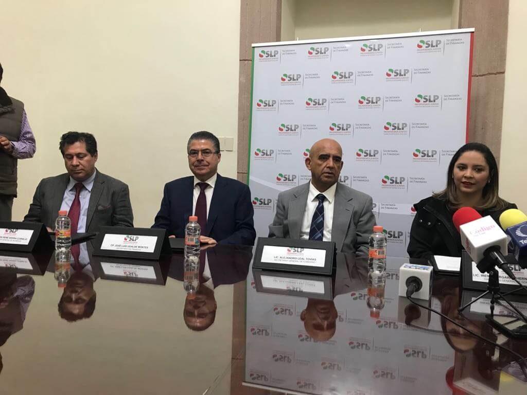 Acuerdo Gobierno Canaco Slp