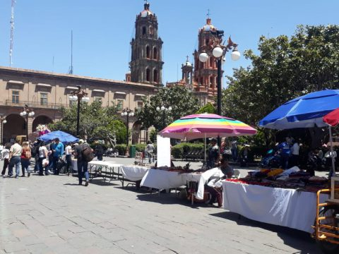 Comercio Municipal ambulantes slp
