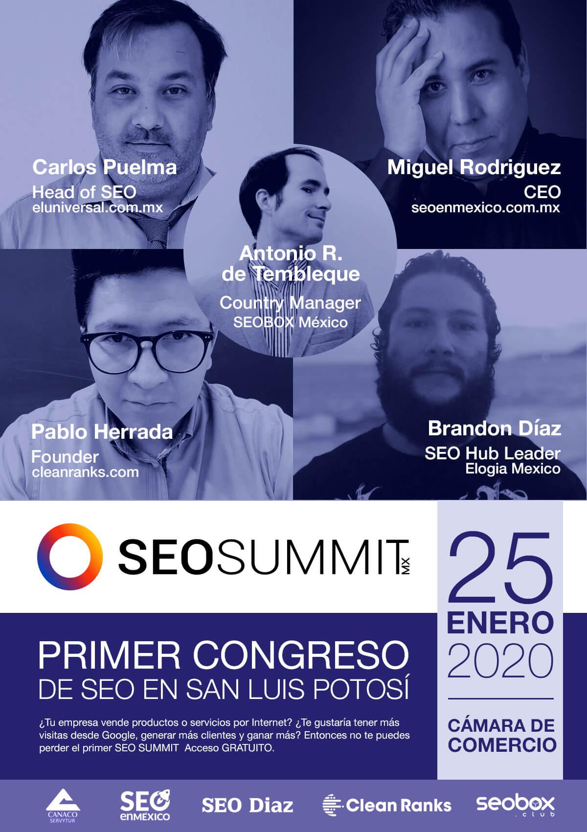 1er Congreso SEO en San Luis Potosí - SEOSUMMIT